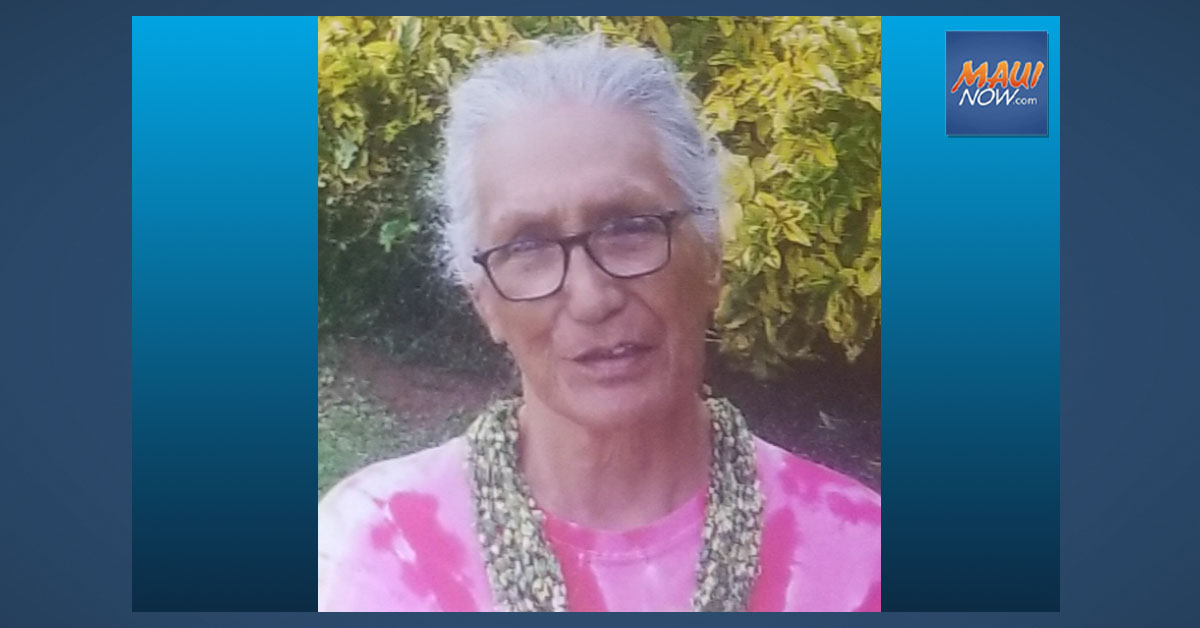 Missing Person: Hāna Woman Last Seen Thursday Night