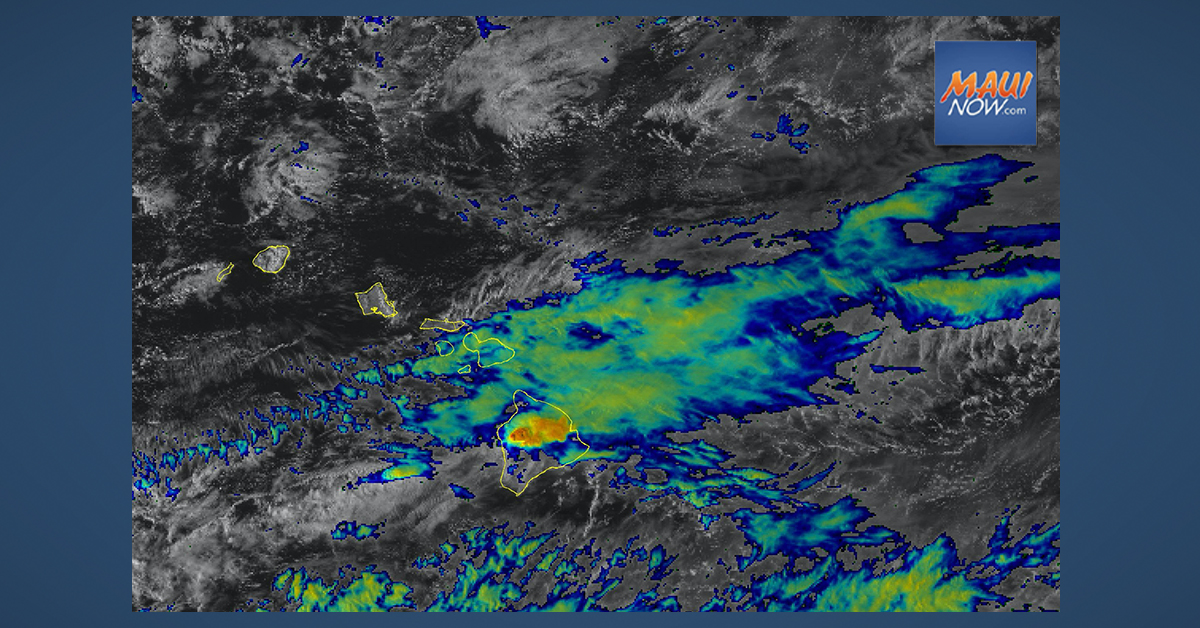 Flood Watch for Maui and Hawai'i Island Until Late Tuesday Night