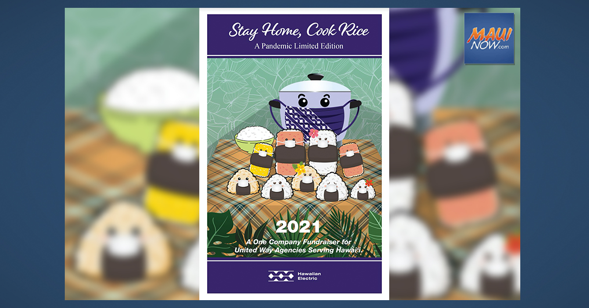 Hawaiian Electric's Stay Home, Cook Rice Cookbook to Benefit United Way