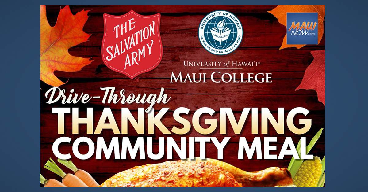 UHMC Drive-Through Thanksgiving Community Meal Happening NOW