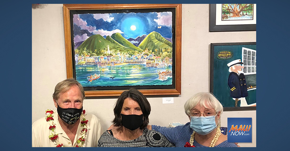 Winner of 2021 Lahaina Poster Contest Selected