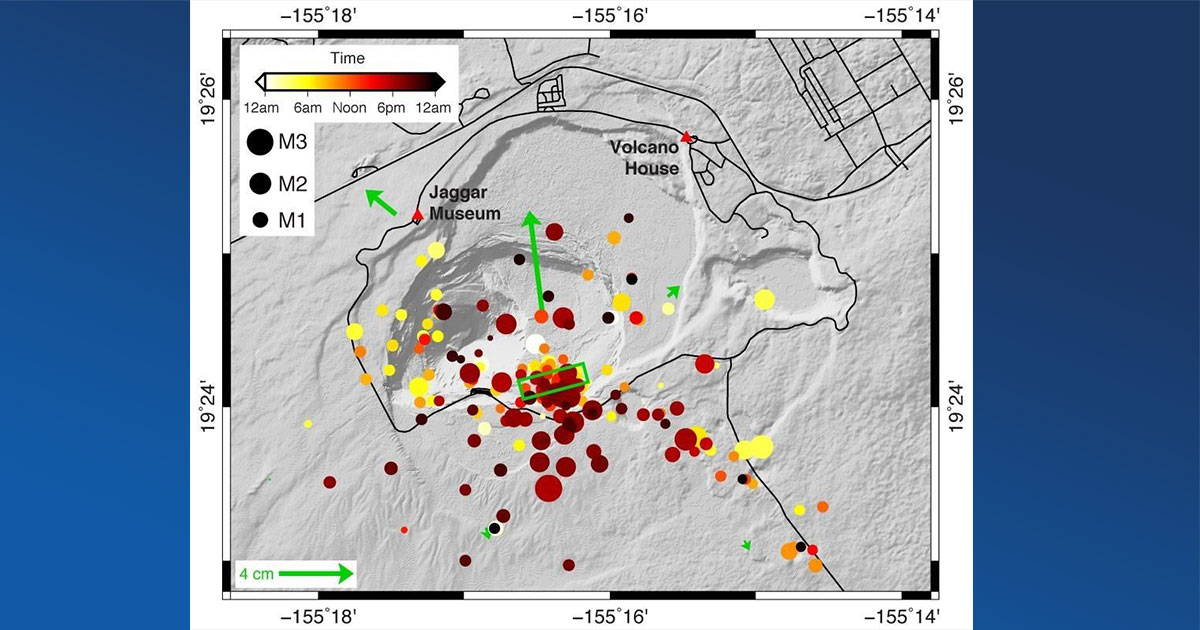 Volcano Watch: A Small But Notable Magma Intrusion at Kīlauea's Summit