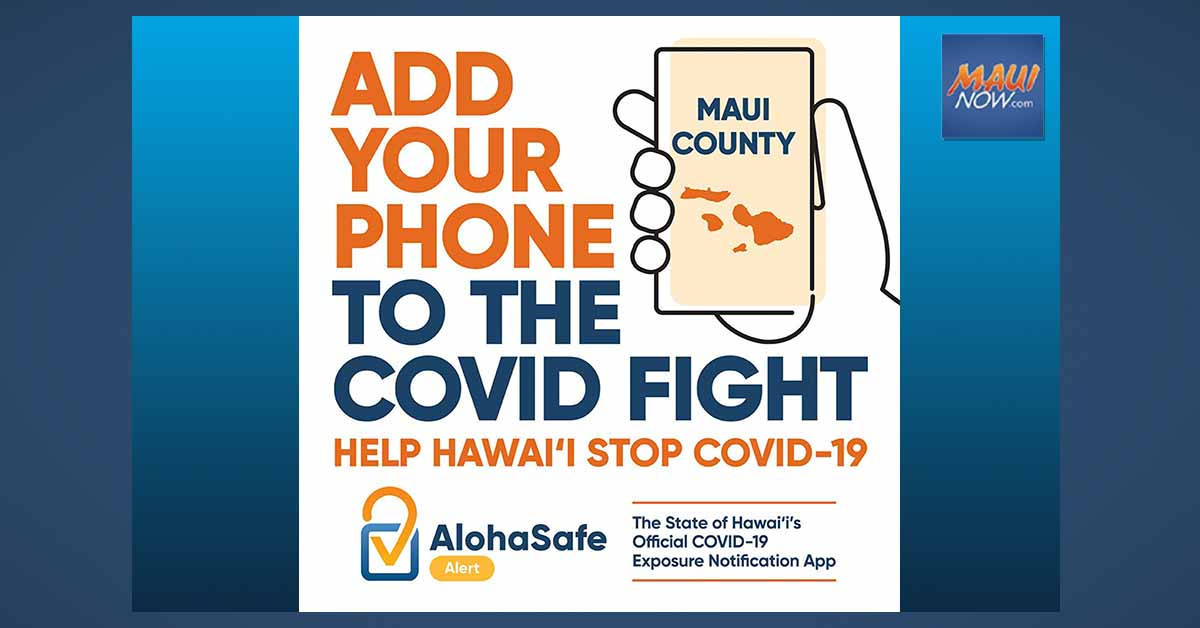 AlohaSafe Alert App Officially Launches in Maui County