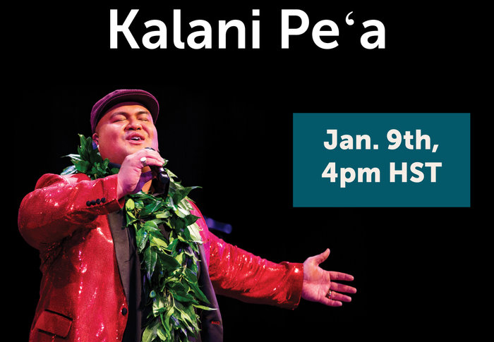 Two-time Grammy Award-winner Kalani Peʻa Returns to Kahilu Theatre