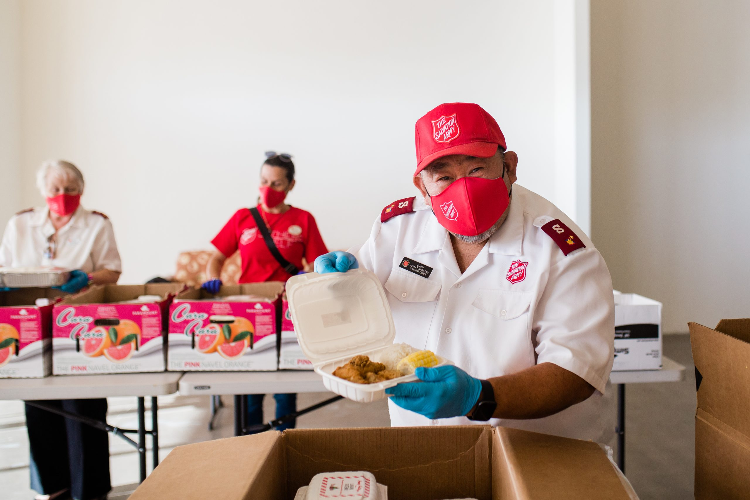 Salvation Army to Host Meal Distribution in Kahului and Lahaina before Thanksgiving