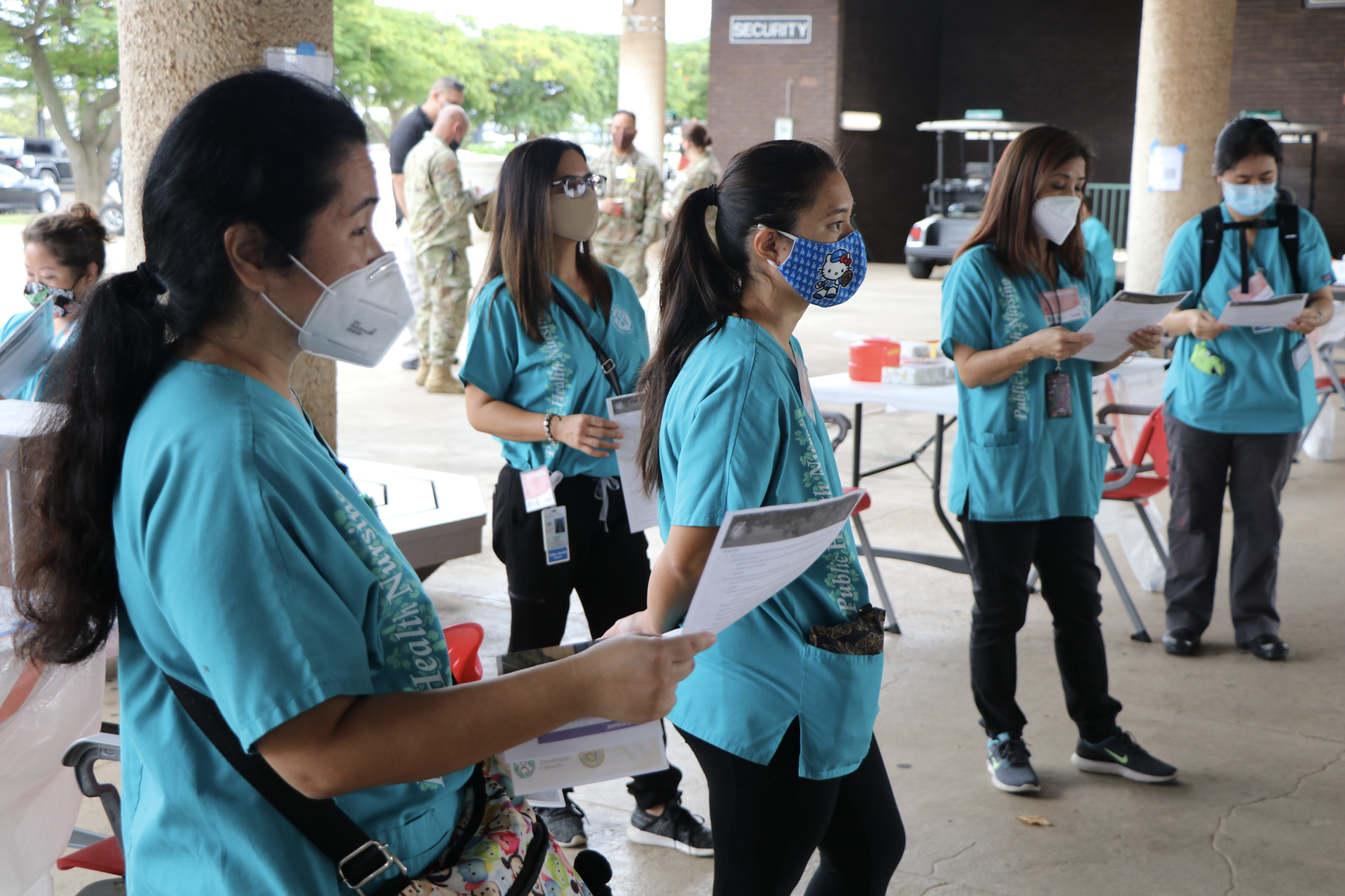 Training Exercise Conducted for Vaccine Distribution in Hawai'i