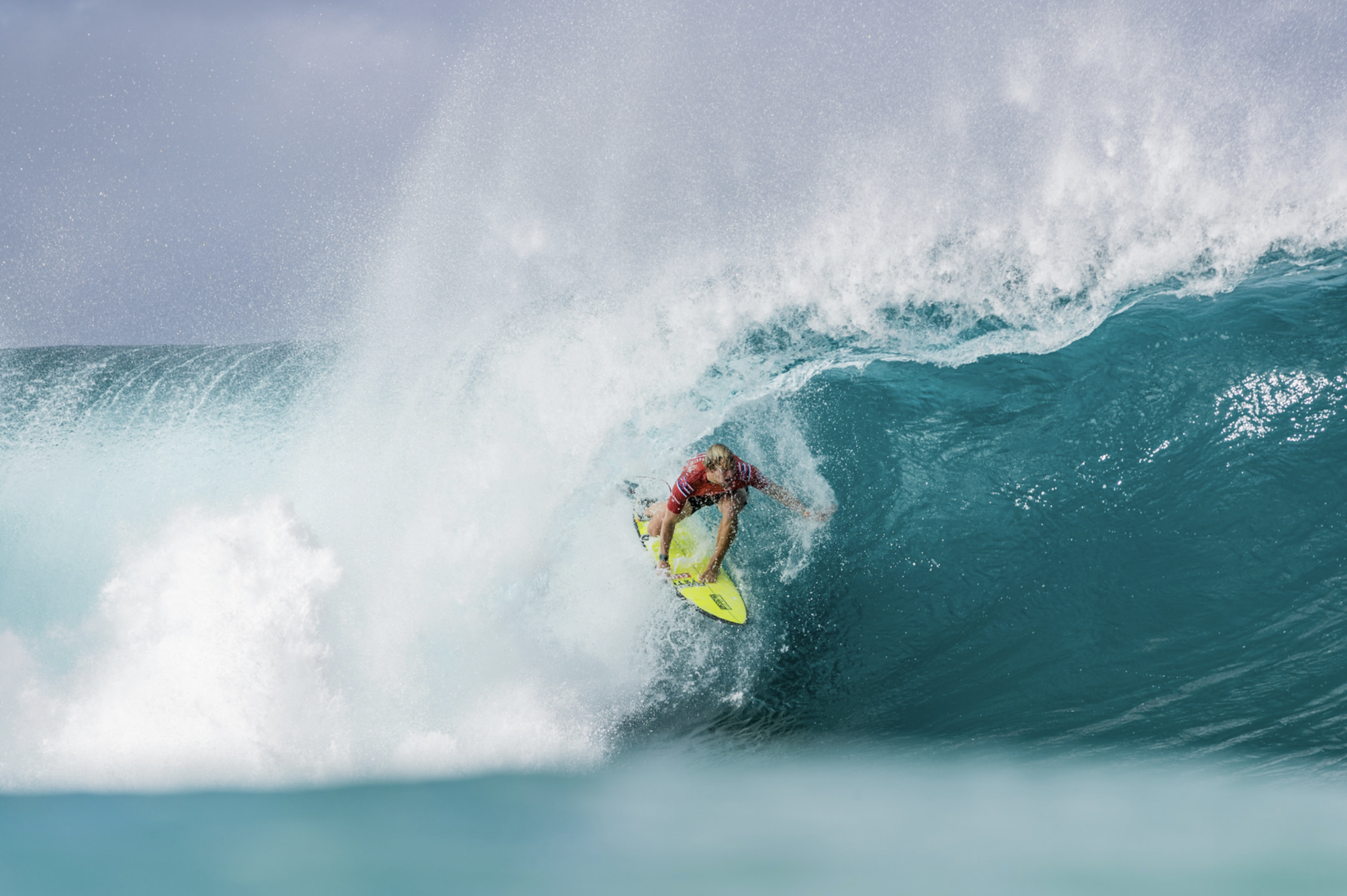 Three Secure Quarterfinal Spots in Pipe Masters, Maui Pro Schedule to be Determined