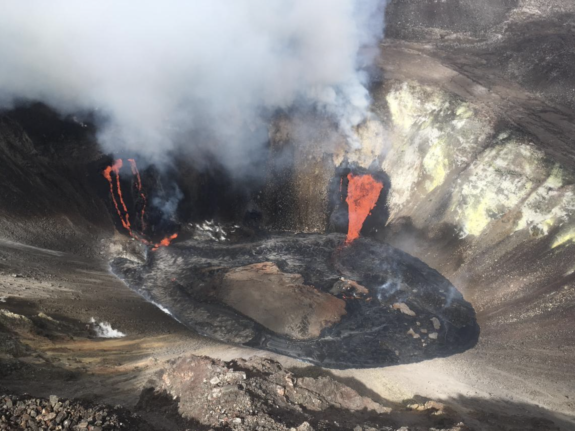 Kīlauea Eruption Poses Air Quality Hazard With Increased Vog and SO2 Levels