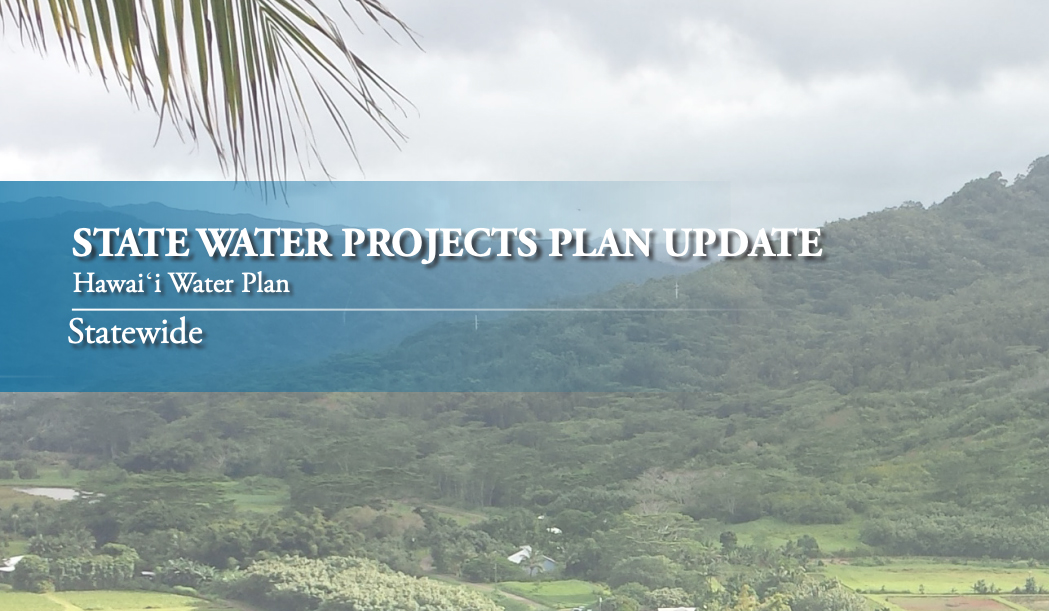 Virtual Public Hearings Scheduled for Input on Hawaiʻi's State Water Projects Plan Update