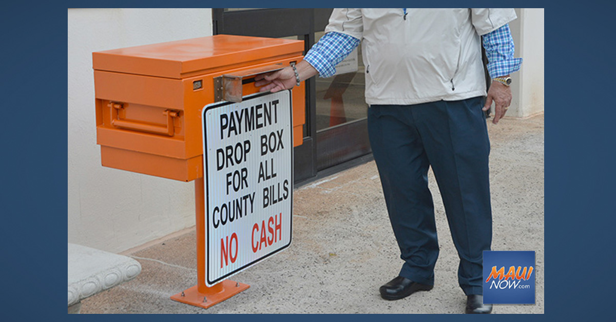 Waiver of County Convenience Fees Extended to Jan. 31, 2021