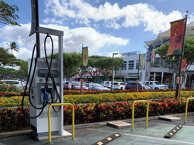 Hawaiian Electric Opens Three electric vehicle fast chargers on Maui