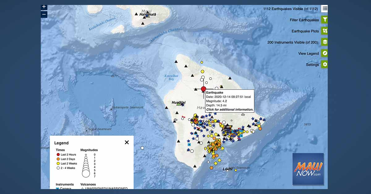 No Tsunami Threat to Hawai'i After 4.4 Earthquake in Waikoloa, Big Island