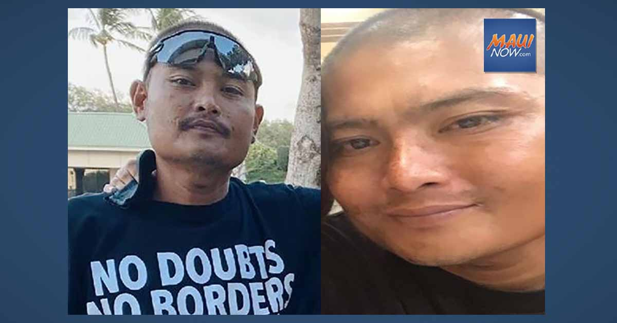UPDATE: Missing Kahului Man Last Seen on Wednesday Morning