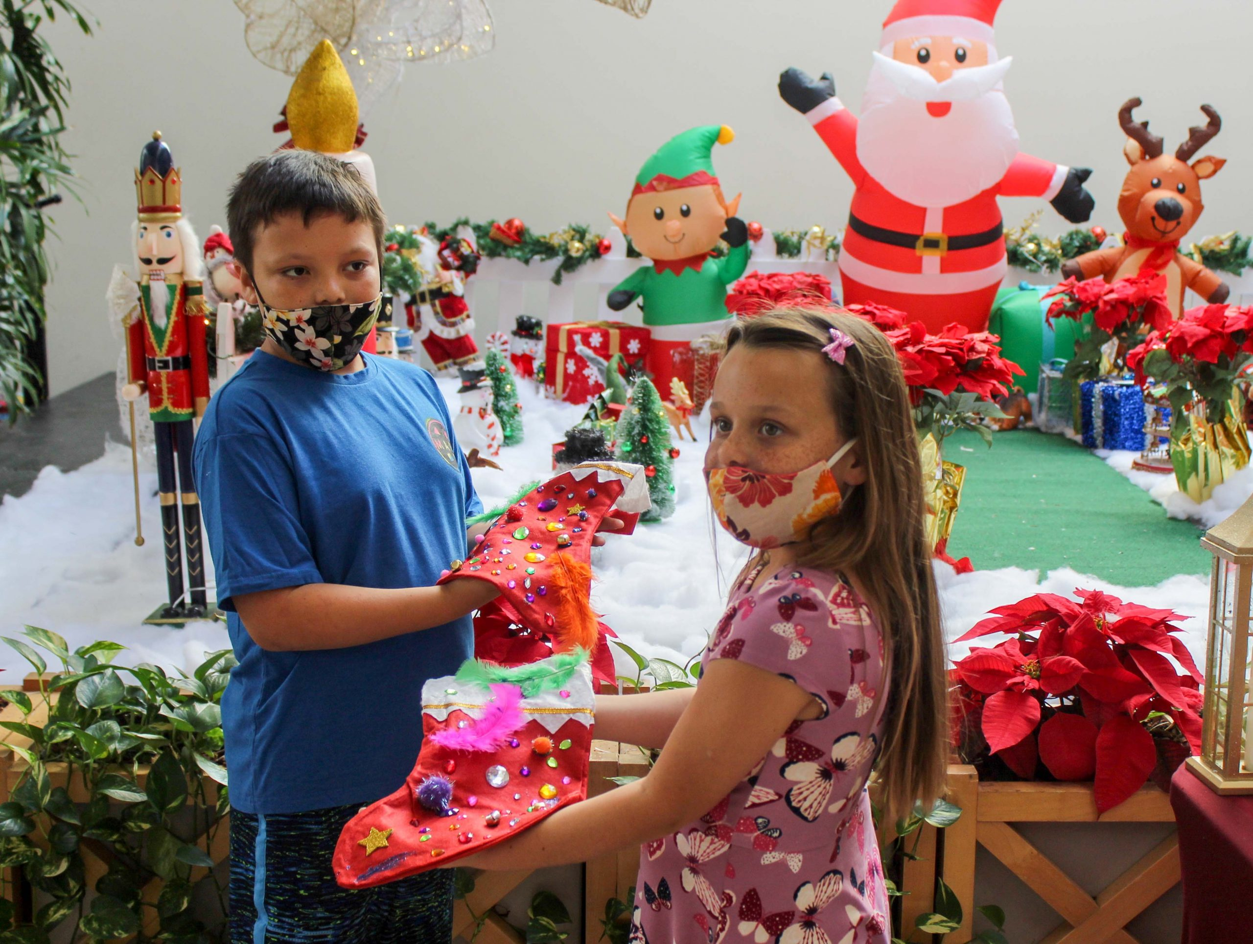 Safer without Santa, But Maui's Christmas Spirit Lives on during Pandemic