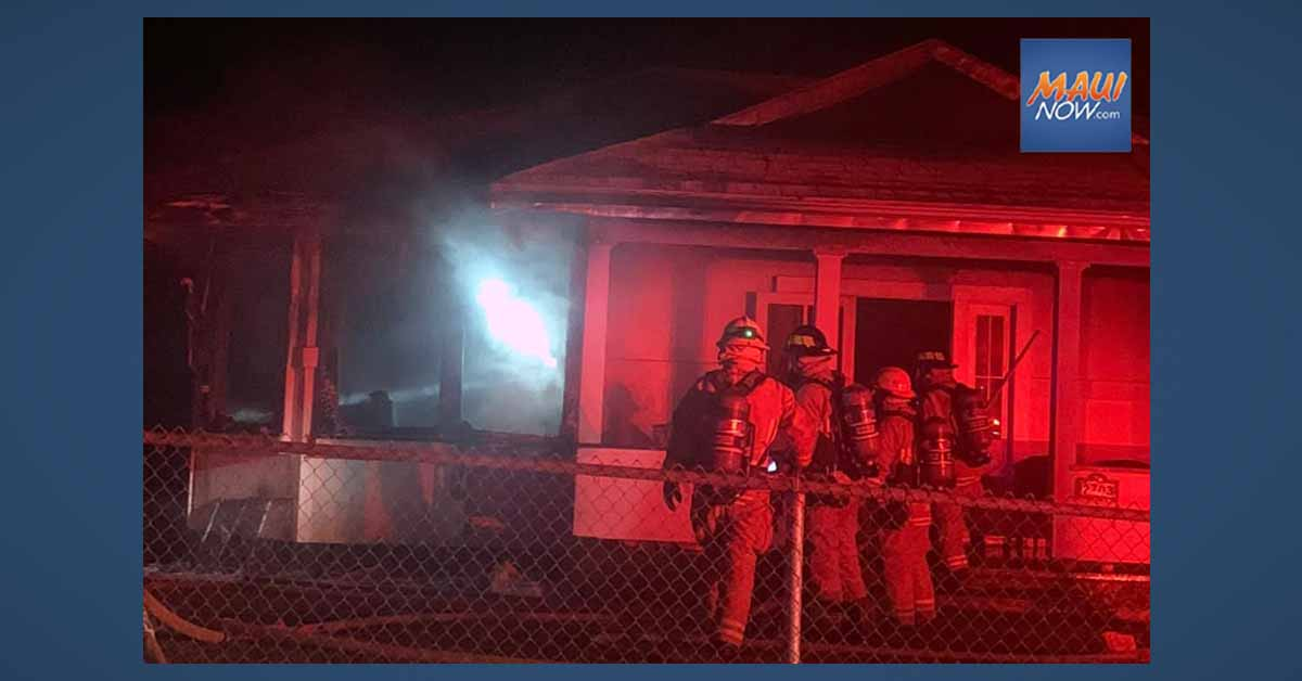 Makawao House Fire Displaces Resident, Causes $250,000 Damage