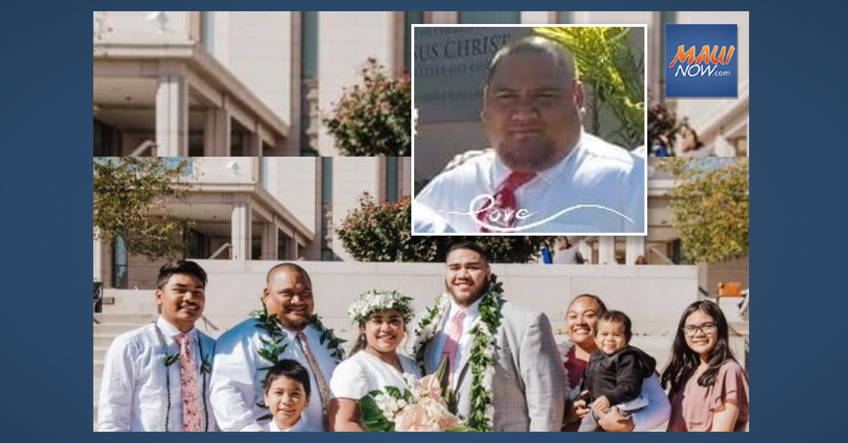 Maui ʻOhana Mourns Loss of Family Member in Utah to COVID