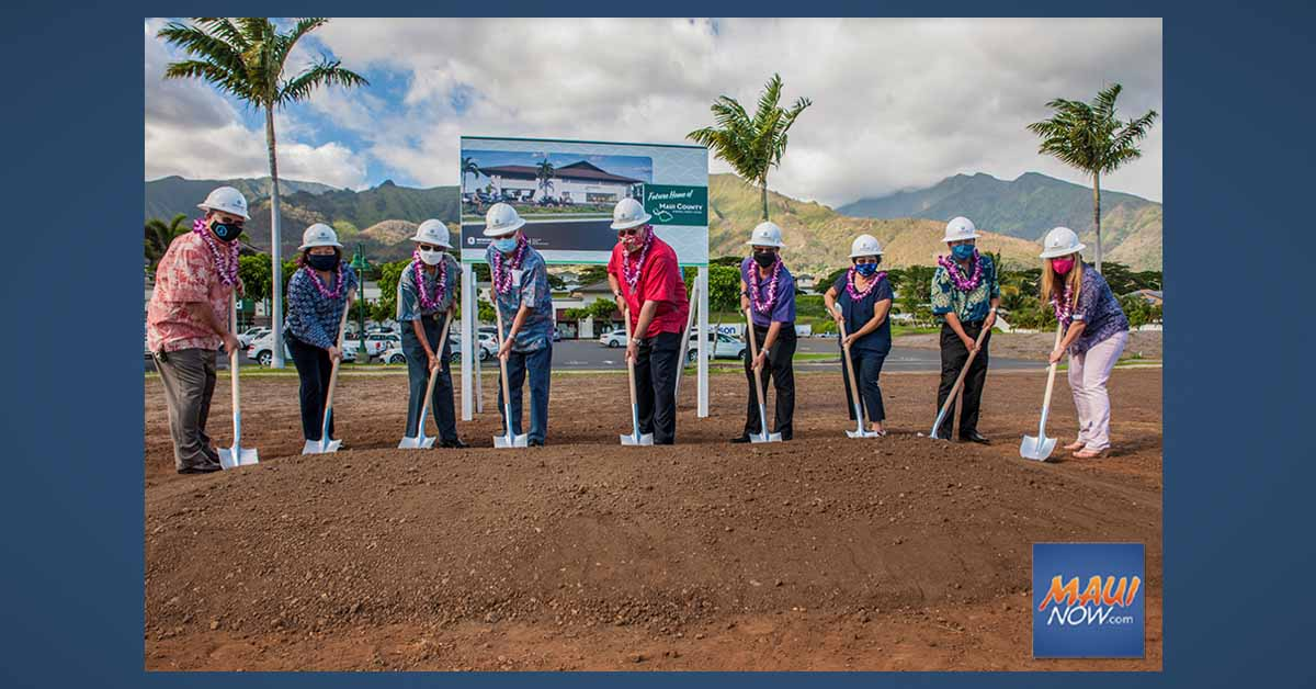Maui County Federal Credit Union Breaks Ground on New Headquarters at Kehalani