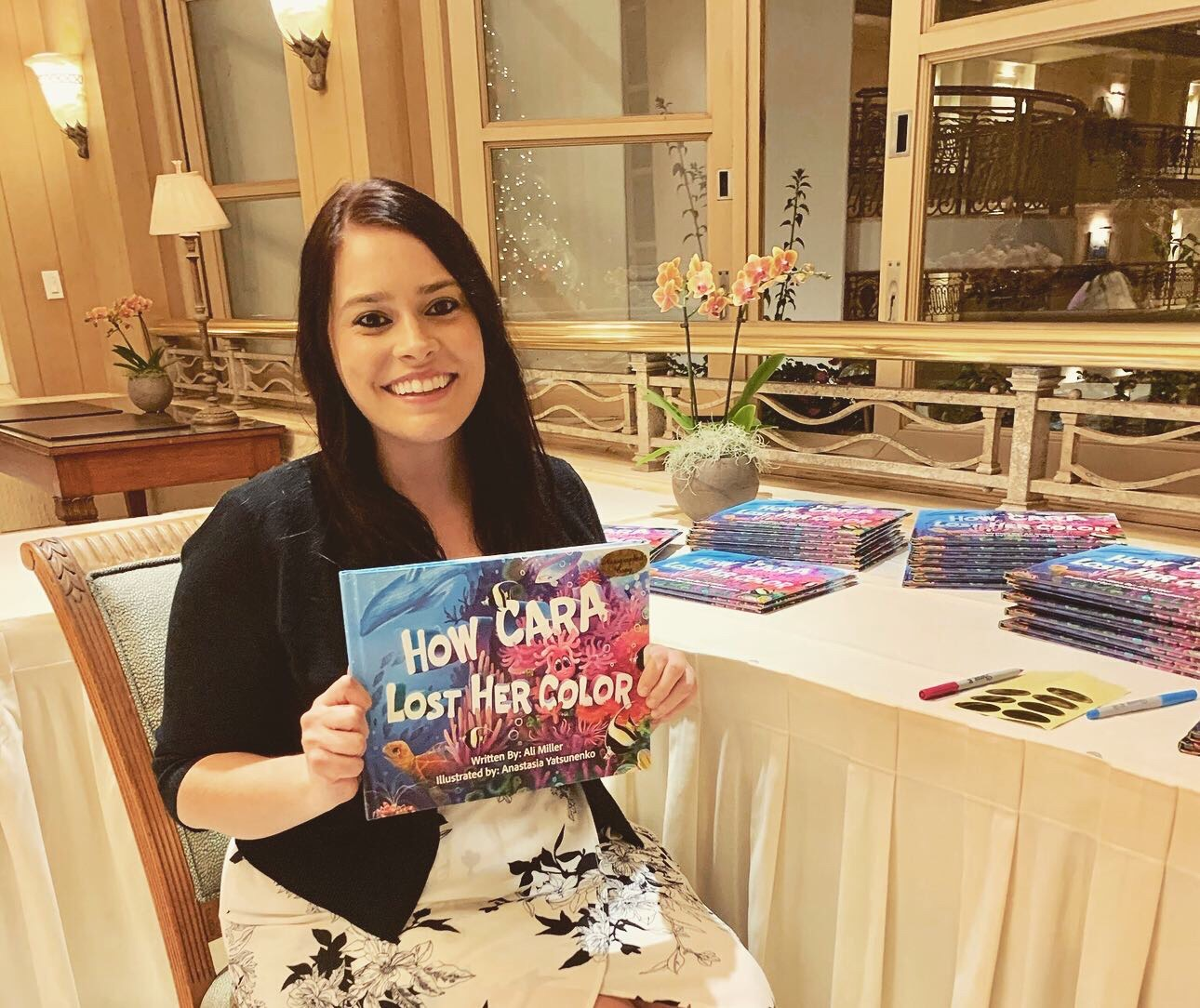 UH Maui College Student Highlights Children's Book About Climate Change and Coral Reefs