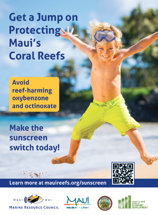 VIDEO: Hawaiʻi's New Law Requires Reef-Safe Sunscreens; Free Informational Materials Available for the Public