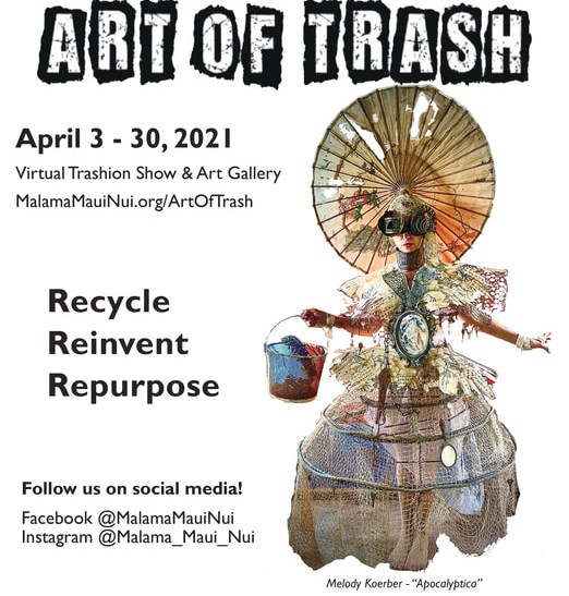 Submissions Sought for Art of Trash 2021's Gallery and 'Trashion Show'