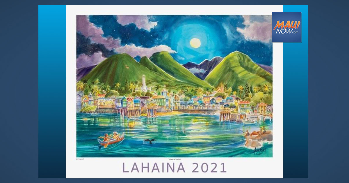 Signing and Release of 2021 Official Lahaina Poster