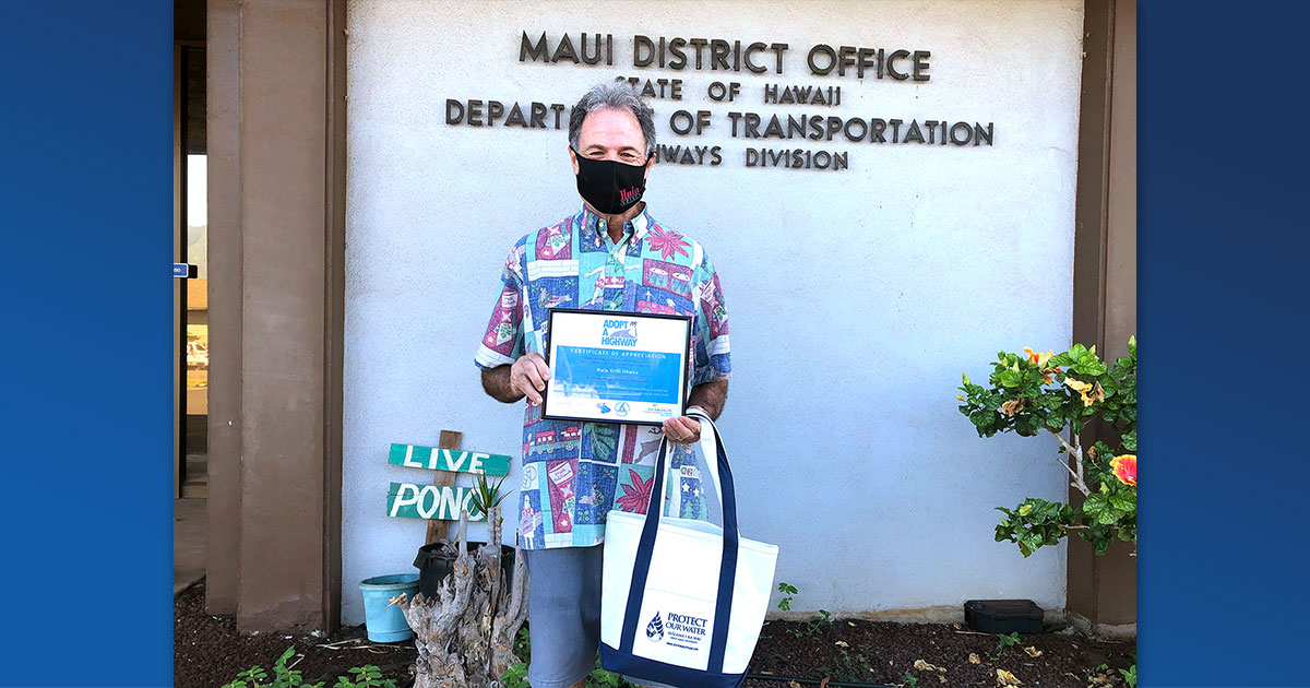 Kāʻanapali's Hula Grill Receives Maui's Adopt-A-Highway Recognition Award