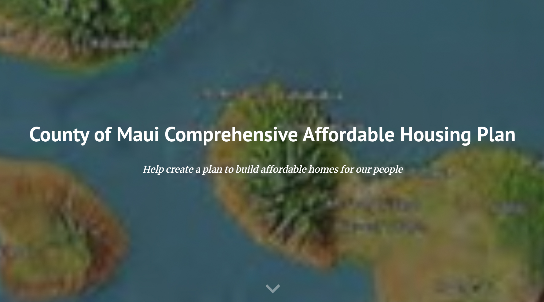 Public Meetings Scheduled for Maui Housing Plan To Build 5,000 Affordable Family Homes