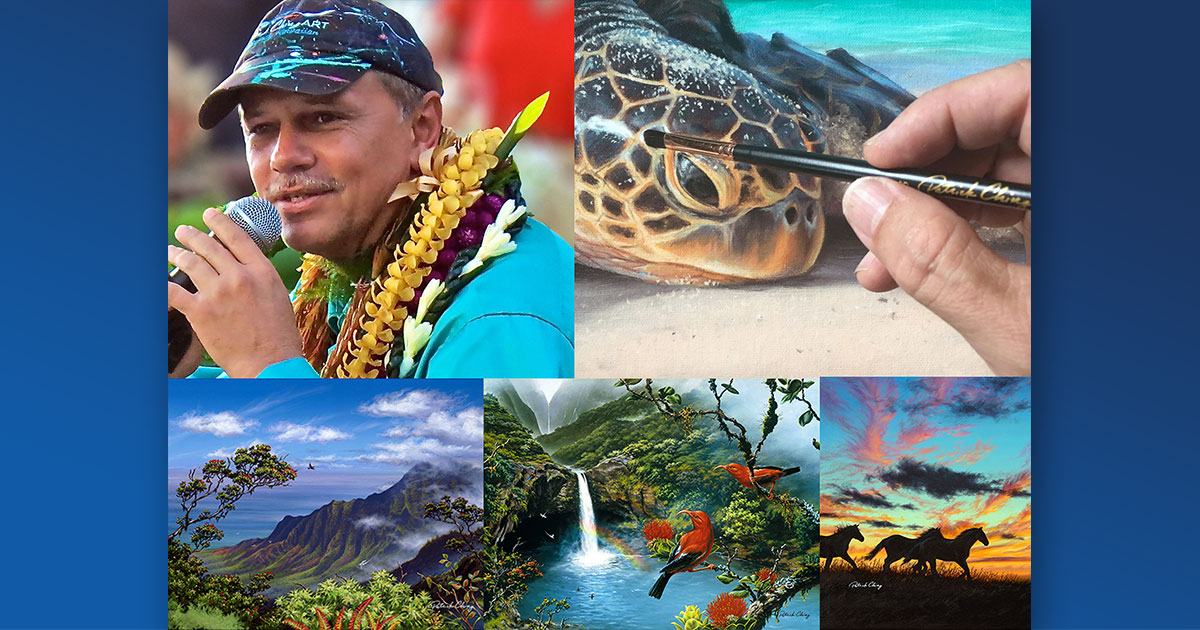 Patrick Ching named Artist in Residence for Hawaiian Islands Humpback Whale National Marine Sanctuary