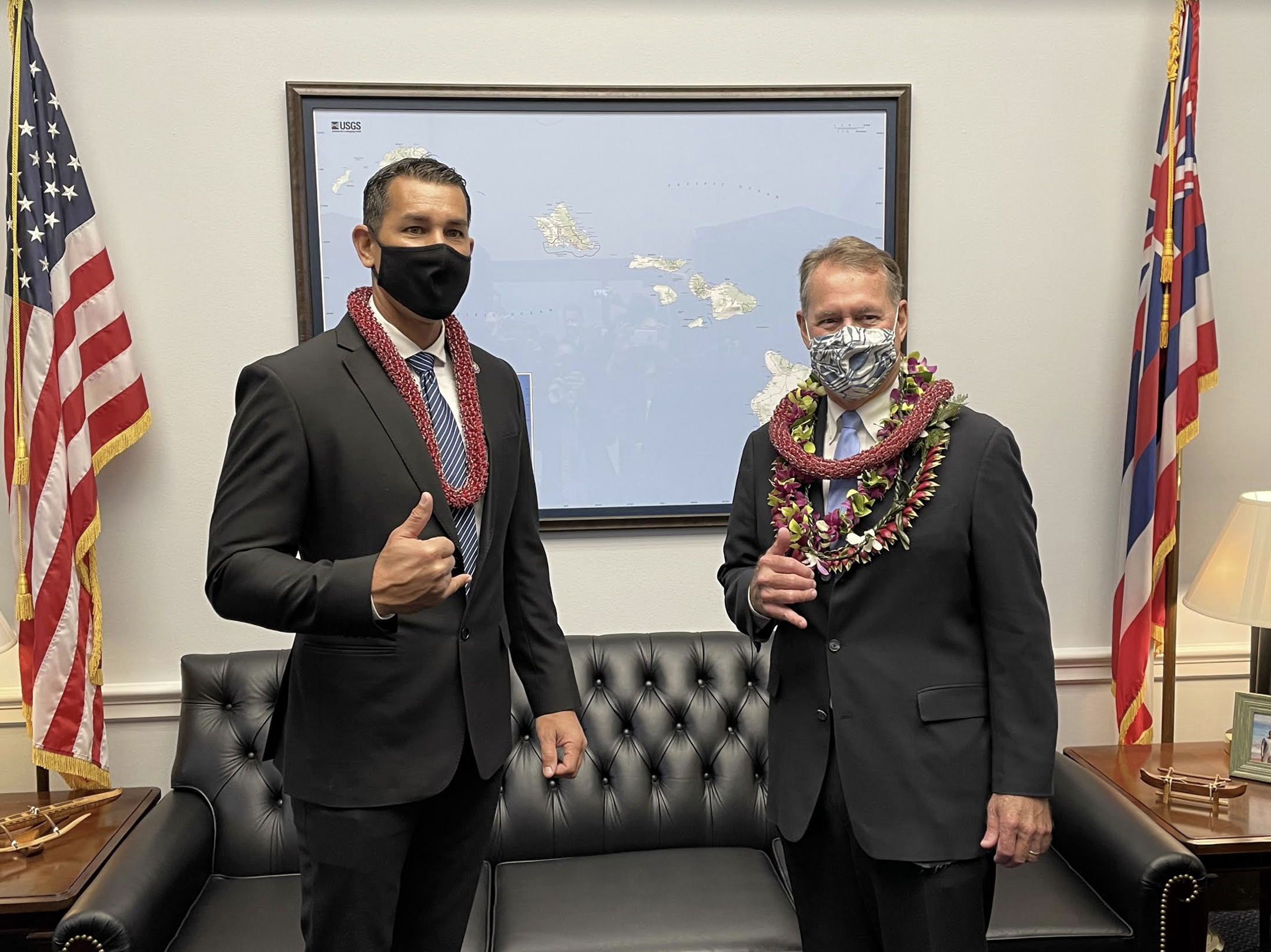 Hawai'i's Ed Case and Kai Kahele Sworn in to 117th Congress