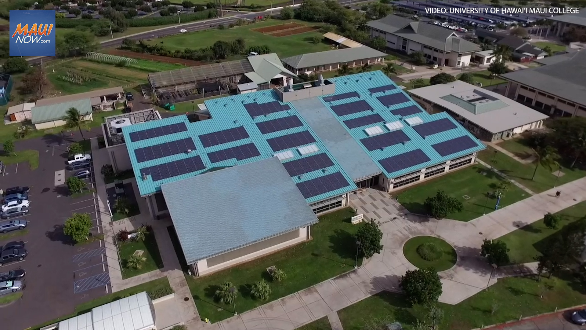 University of Hawai'i Maui College Achieves Net-Zero Goal