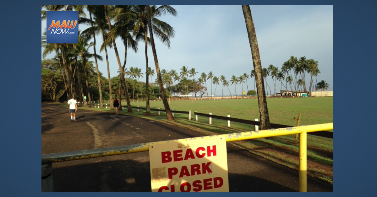 Baldwin Beach Park Temporarily Closed After Overnight Flooding