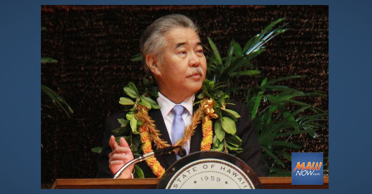 Governor Ige Appoints Two People to Hawaiʻi Paroling Authority Board