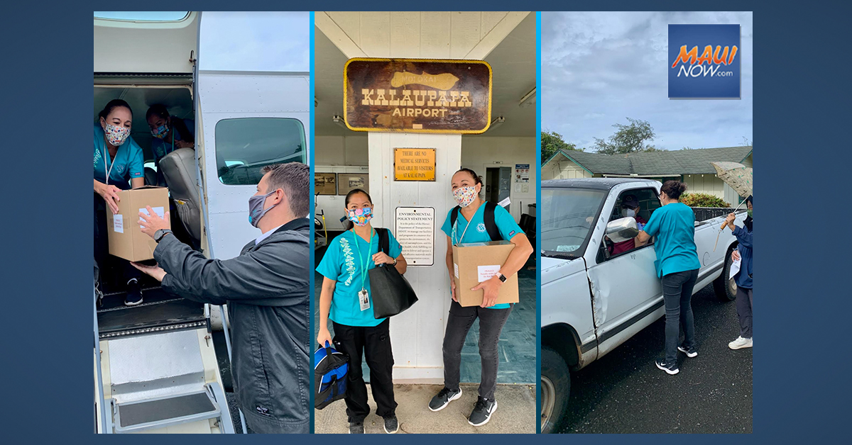 COVID-19 Vaccines Delivered to Kalaupapa, Moloka'i