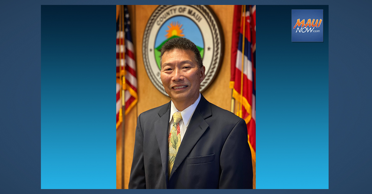 Mayor Victorino announces First Deputy Prosecuting Attorney Michael Kagami