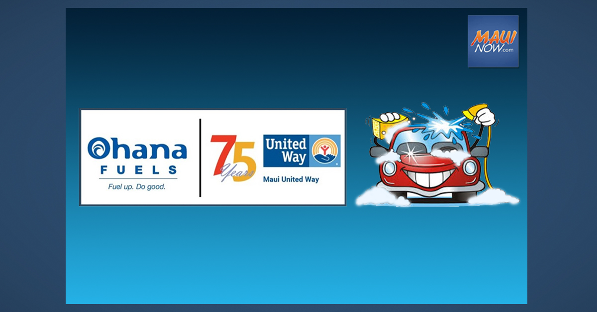 Car Wash to Benefit Maui United Way and Parter Agencies