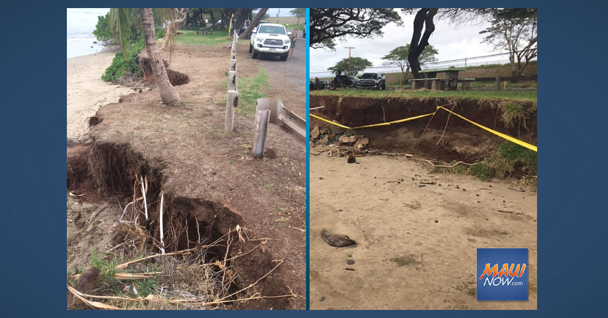 Maui's Puamana Remains Closed Indefinitely for Erosion Hazards, Protection of Hawaiian Burials