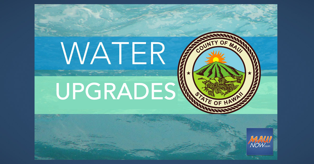 Water Valve Replacement in Lahaina, April 1