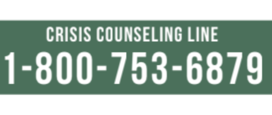 Free Crisis Counseling Now Available for People Struggling during COVID-19 Pandemic
