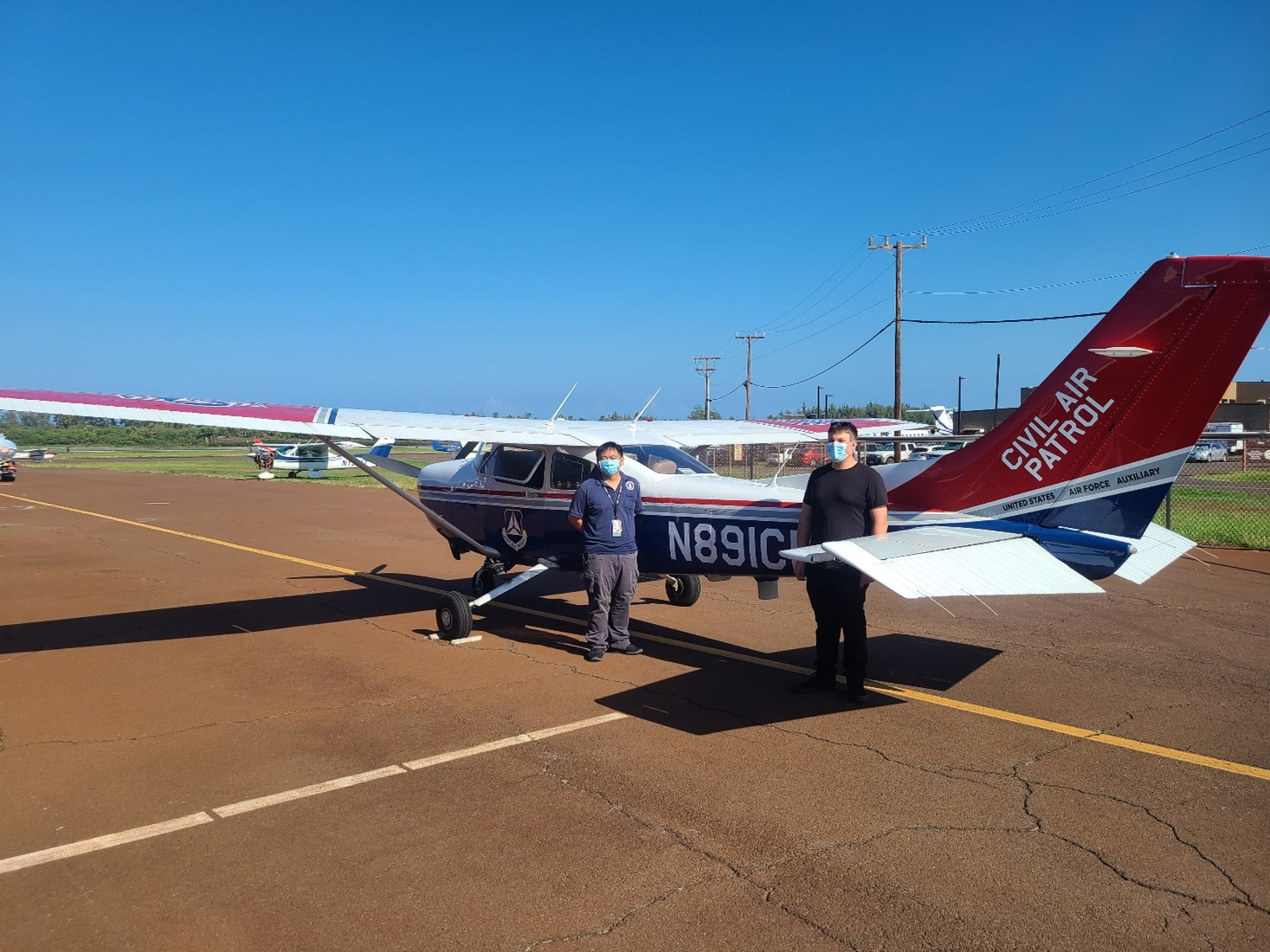 Maui's Civil Air Patrol Teaches Cadets/Future Pilots Joys of Flying