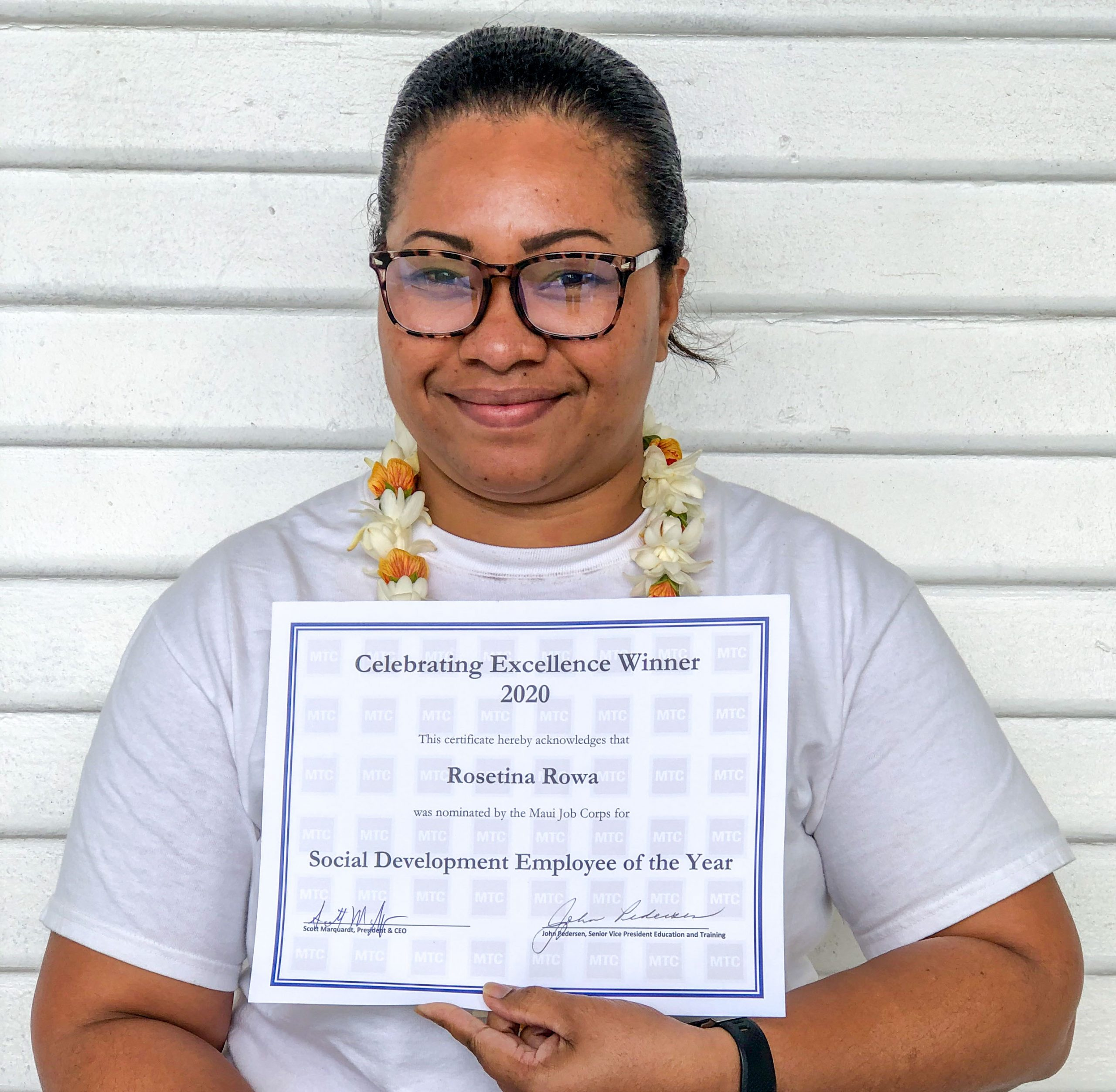 Maui Job Corps Center Honors Top Employees