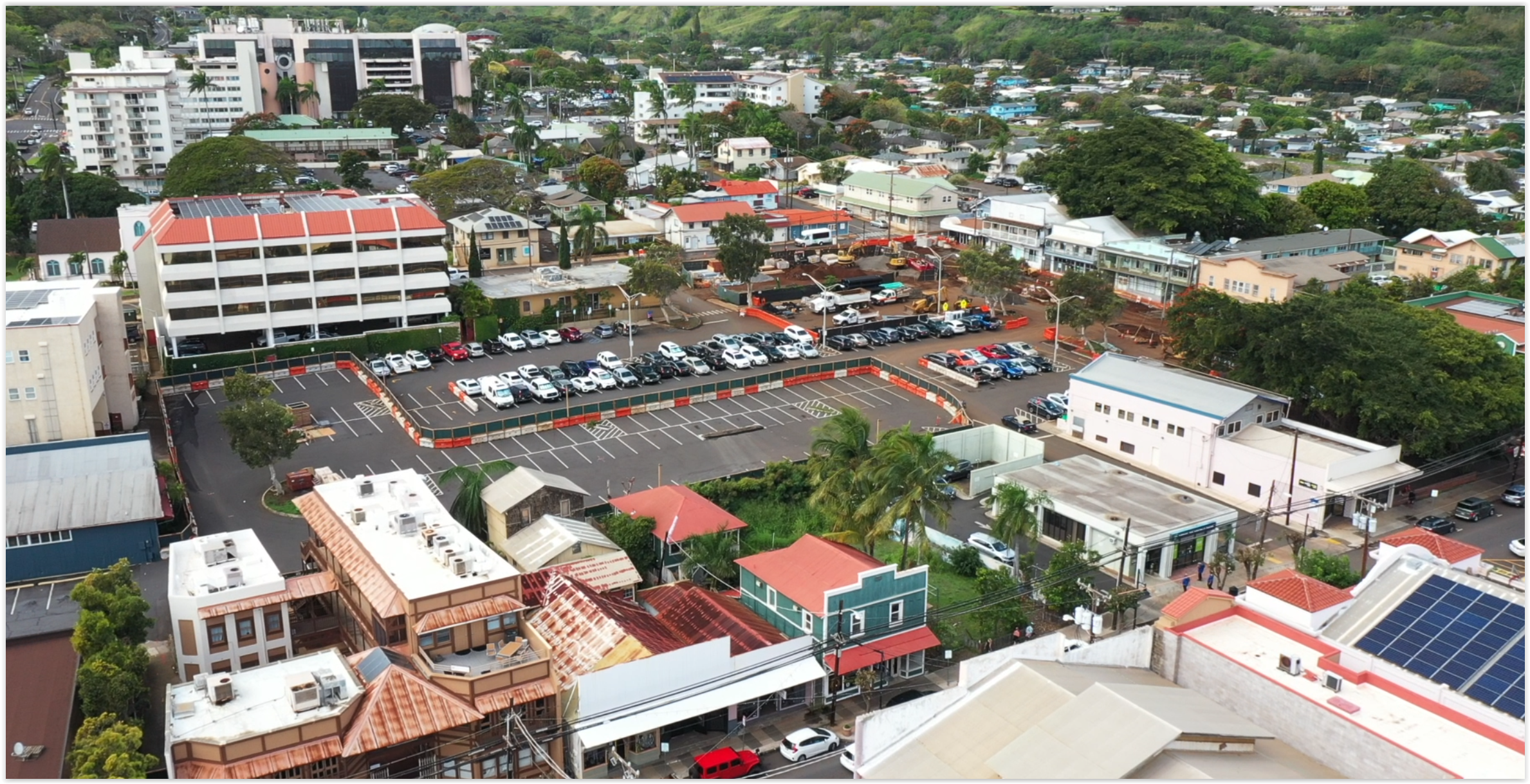 Blessing ceremony held for new Wailuku Parking Structure