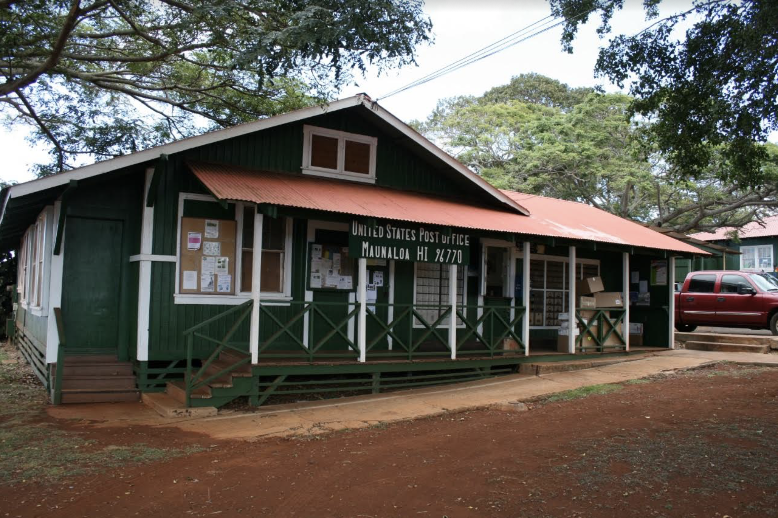 Structural Concerns Prompt Temporary Closure of Maunaloa Post Office on Moloka'i