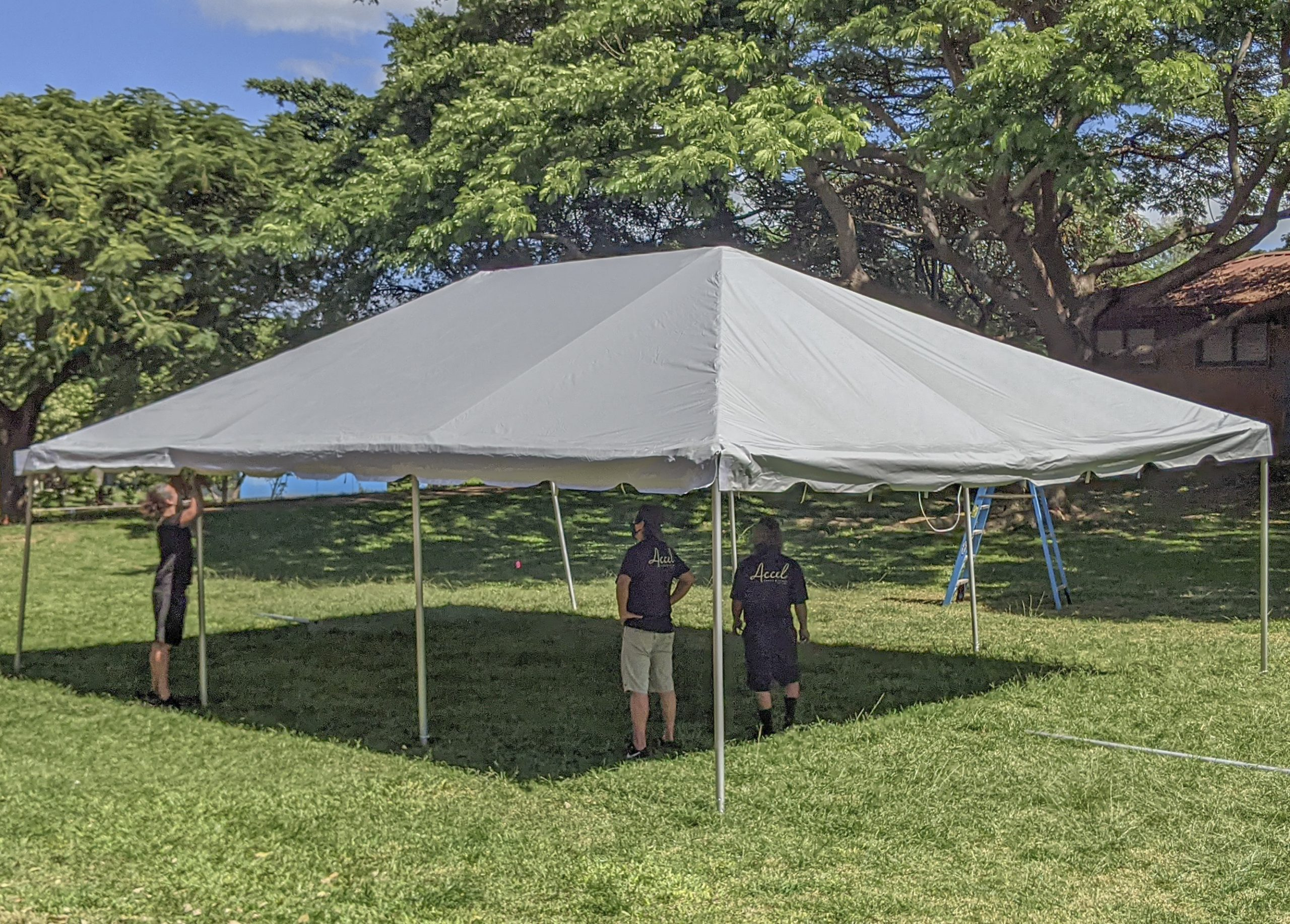 Temptation Island Production Company Donates Brand New Tents to Kīhei Schools for Outside Classes