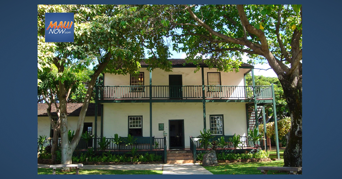 Lahaina Restoration Foundation Awarded National Preservation Grant for Baldwin Home