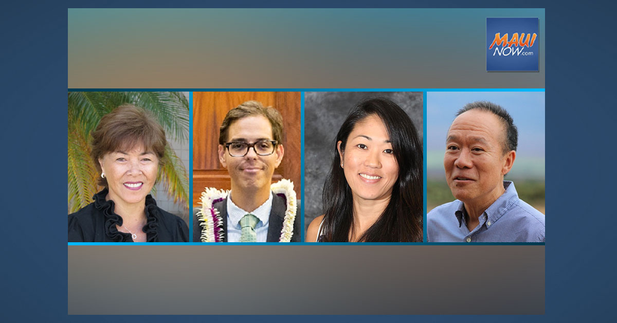 Nominees Selected for Maui County Charter Commission