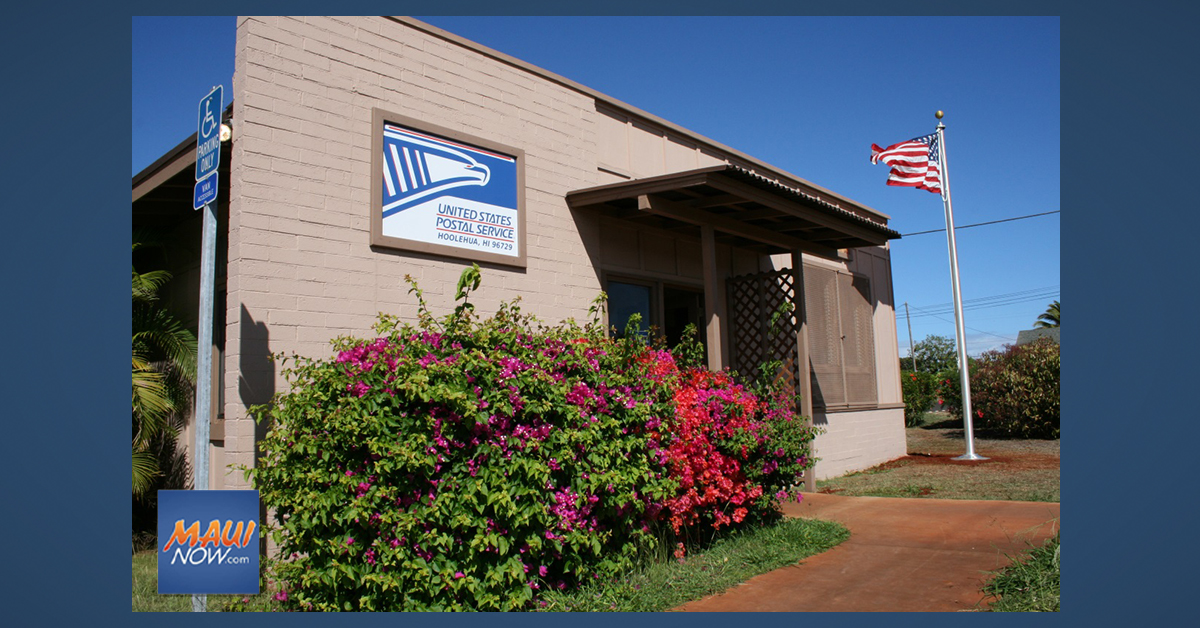 Ho'olehua Post Office Reopens Today