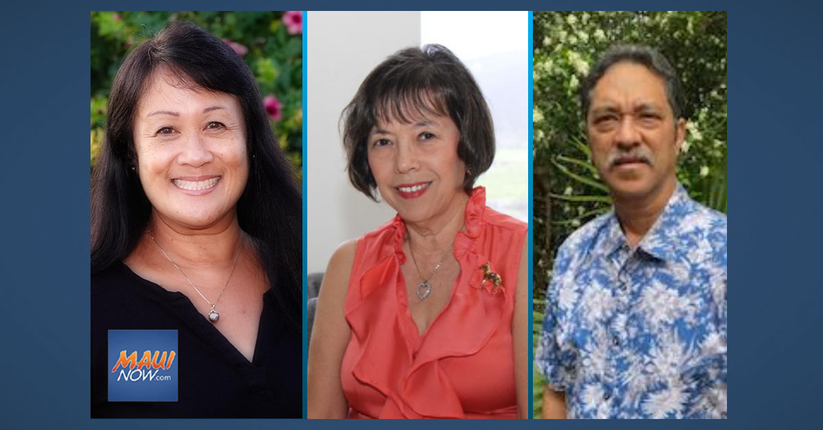 Ohigashi, Davis and Aoki Elected as Maui County Field Reps for Congressman Kahele