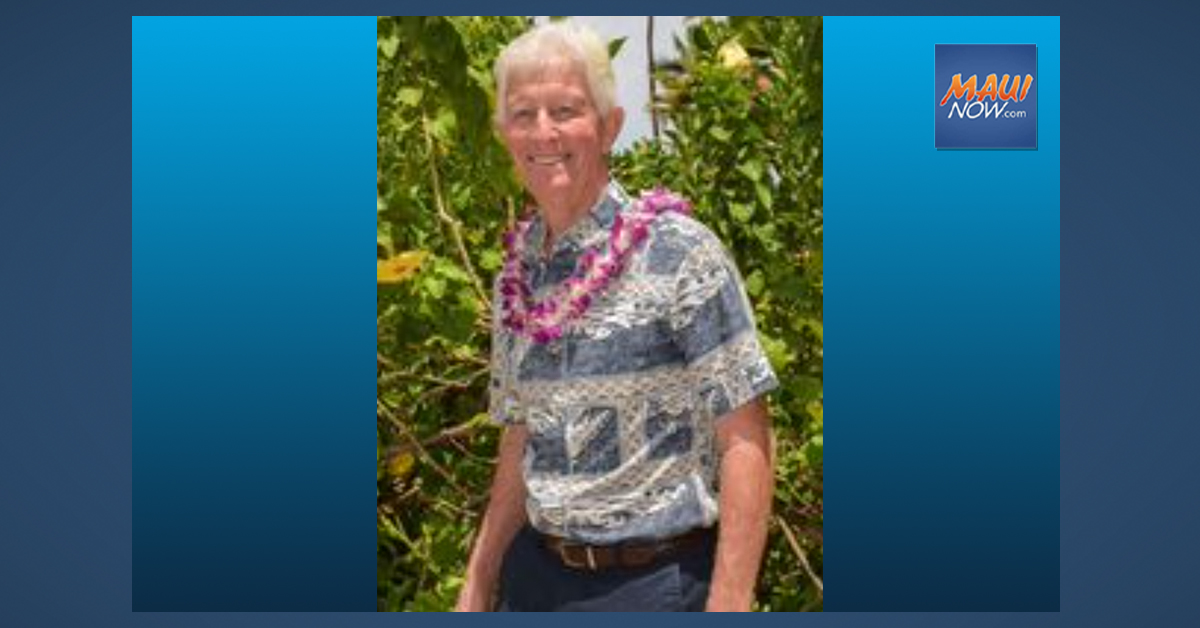 Wailuku Rotary Club To Hold Virtual Remembrance To Celebrate Life of Tom Leuteneker
