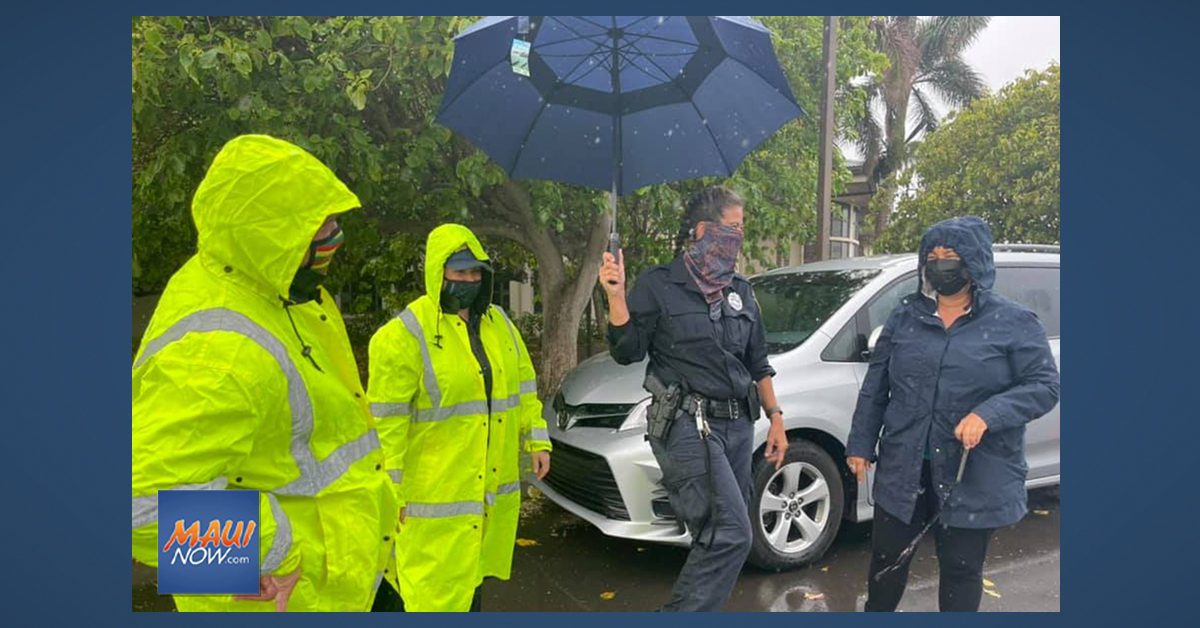 Maui Vaccination Clinic Closed Early on Wednesday Due to Inclement Weather