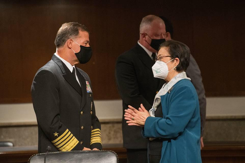Sen. Hirono Endorses Admiral Aquilino at Confirmation Hearing for Commander of US Indo-Pacific Command